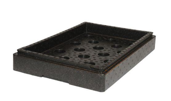 Indsatsramme til køle/fryseelement. Gastronorm 1/1.-0
