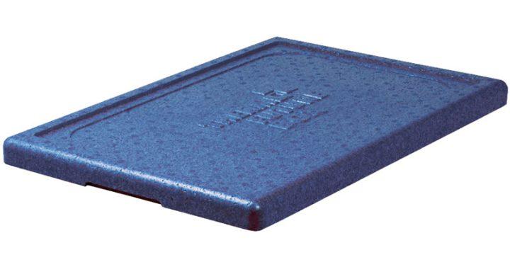 Premium låg/erstatningslåg - blåt. Gastronorm 1/2.-0