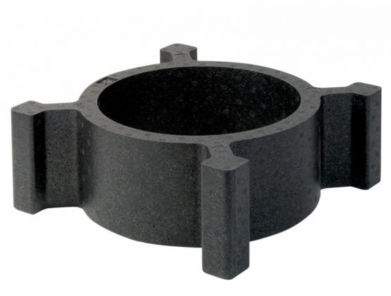 Rund adapterring til container. Ø 28 cm.-0