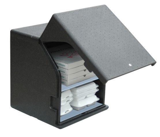 Square kasse med indstik/frontload til montering - 83 l. 42 x 42 cm.-0