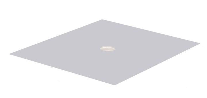 Mellemlægsplade i aluminium. Gastronorm 1/2.-0