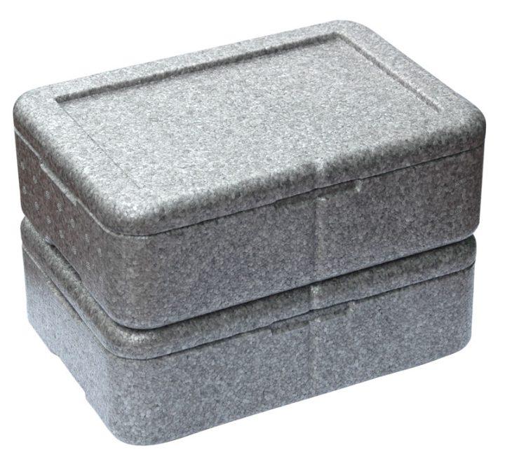 Dinner kasse til portionsanretning. 3 rum - 1 portion + 2 tilbehør.-403