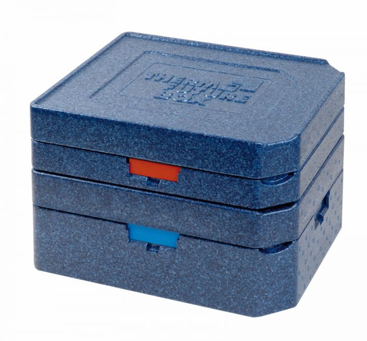 Dinner kasse til portionsanretning. 3 rum - 1 portion + 2 tilbehør.-416