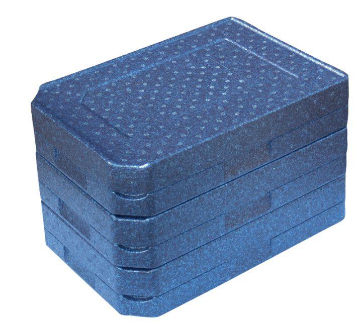 Dinner kasse til portionsanretning. 3 rum - 1 portion + 2 tilbehør.-415