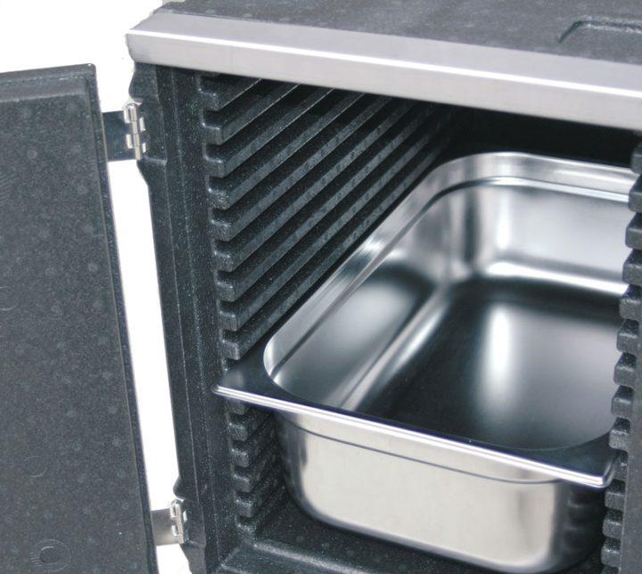 Med indstik/frontload - 77 l - 11 skinner. Gastronorm 1/1.-424