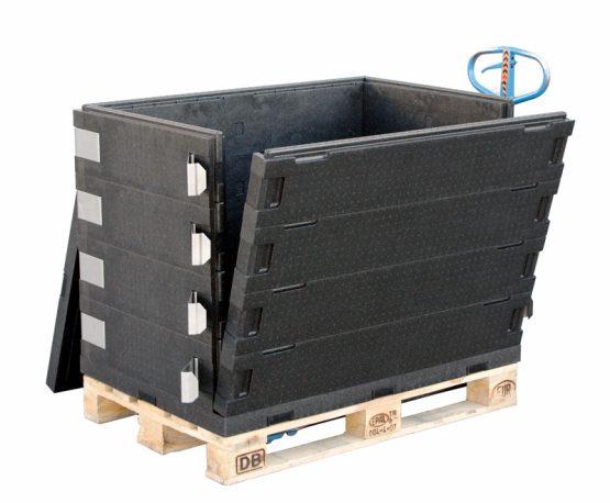 Gitterhylde til Europalle transport kasse.-0