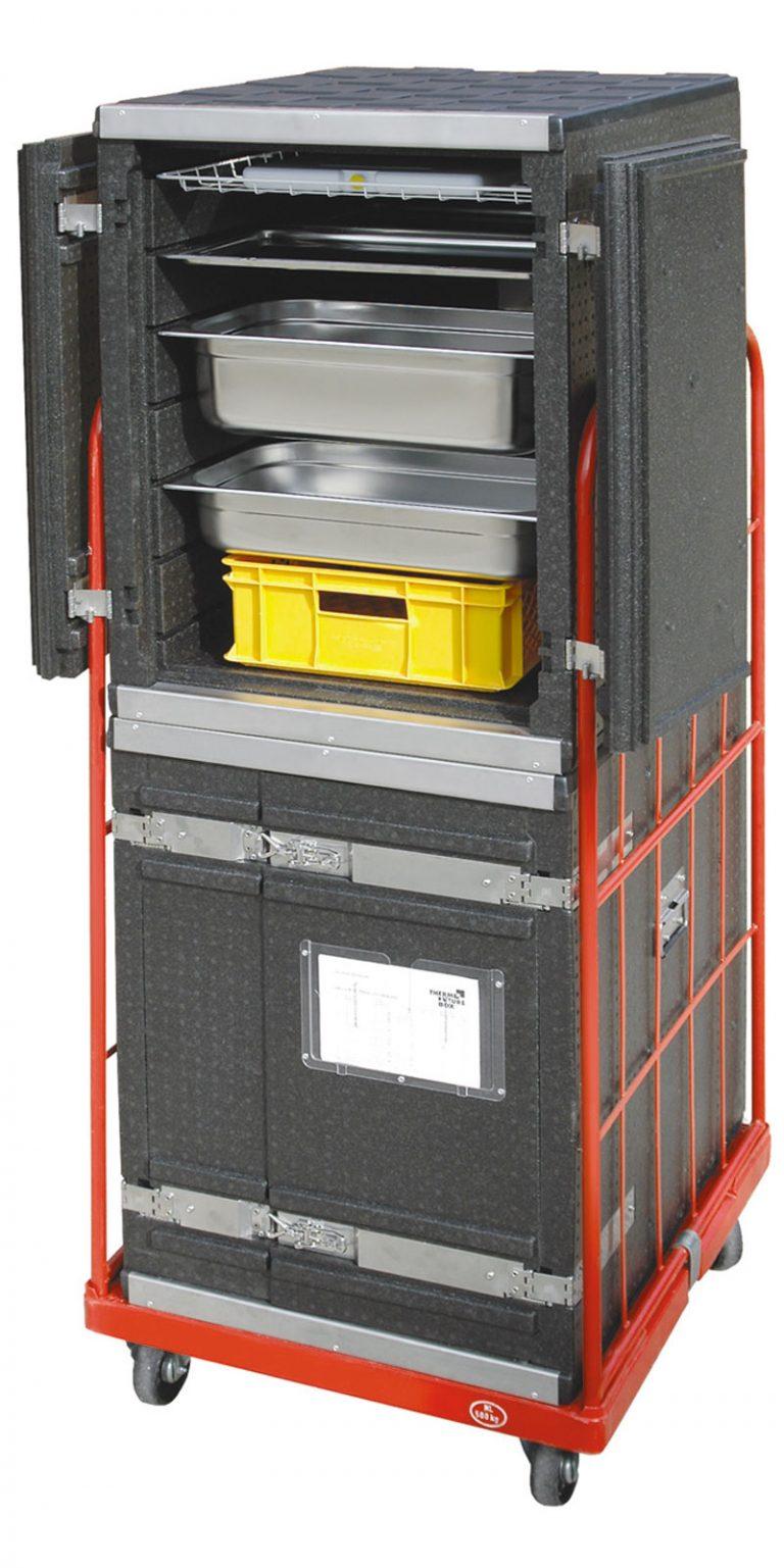 Til indstik/frontload - 242 l - 7 skinner. Gastronorm 1/1 og 60/40.-438