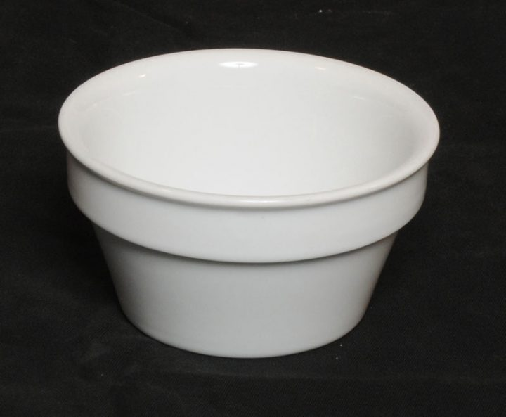 Porcelænsskål til tilbehør - 300 ml.-0