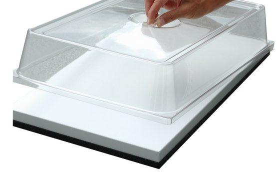 Transparent låg til afdækning af fade. Gastronorm 1/1.-0