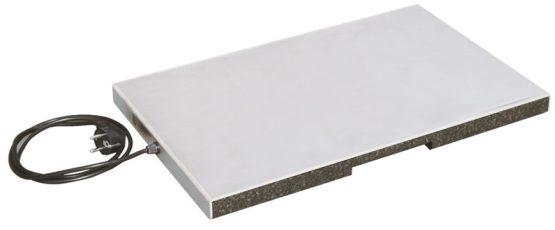 Varmeplade til kasser og indstik/frontloadere. Gastronorm 1/1. -0