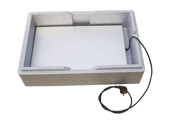 Varmeplade til kasser og indstik/frontloadere. Gastronorm 1/1. -458