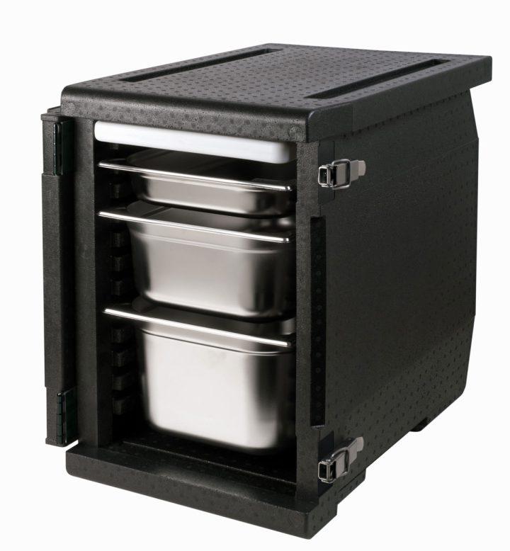 Med indstik/frontload - 93 l - 12 skinner. Gastronorm 1/1.-566